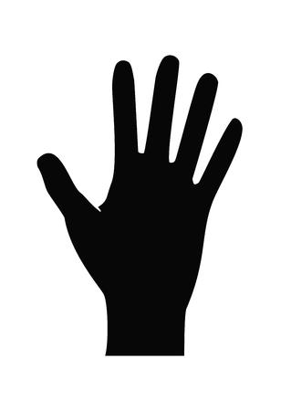 icône de main