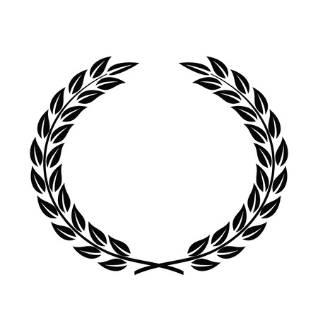 certificate frame: Laurel Wreaths