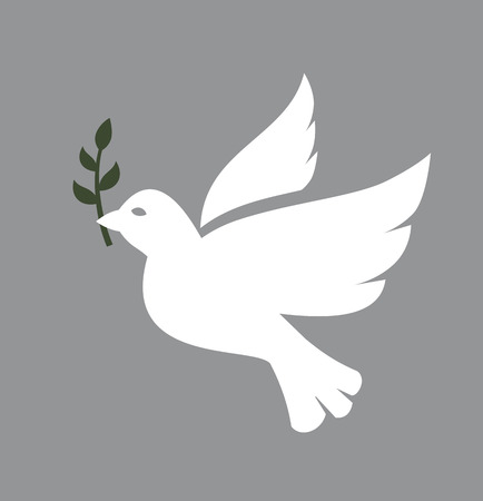 peace and love: Dove icon
