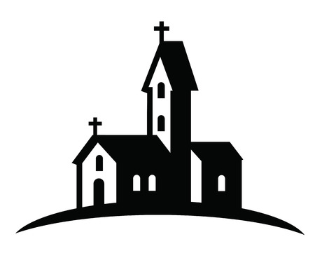 18 674 church building cliparts stock vector and royalty free rh 123rf com Church Building Fund Black and White Clip Art Church Building