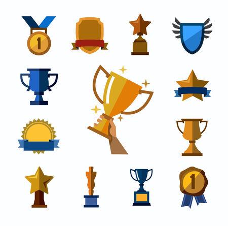 trofeos y premios iconos