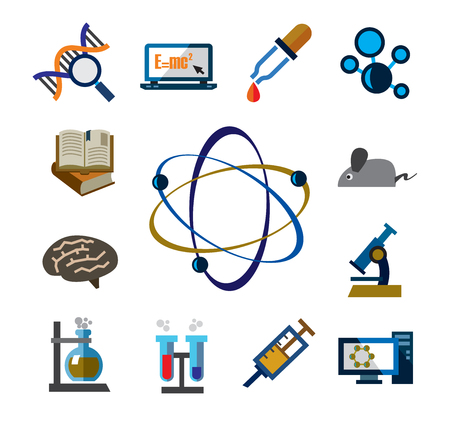 computer scientist: science icons