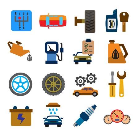 gearbox: auto icons