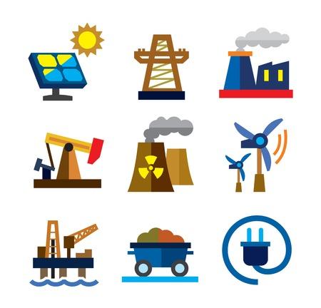 energie-iconen
