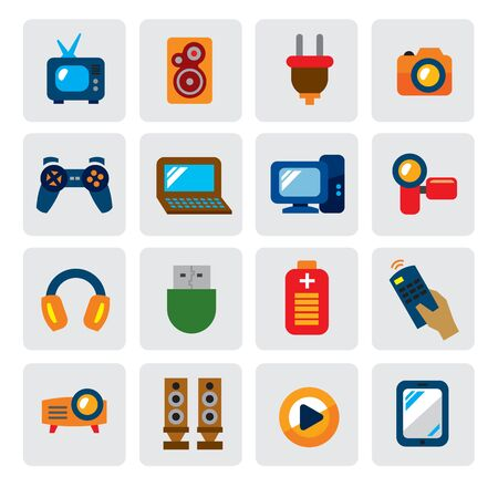 electronic devices: electronic devices Illustration