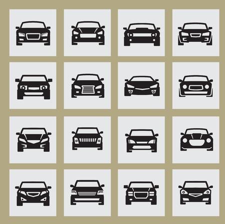 cars icon Stock Illustratie