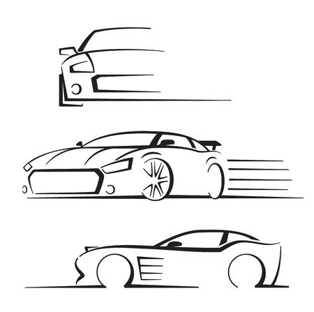 fast auto: black auto set