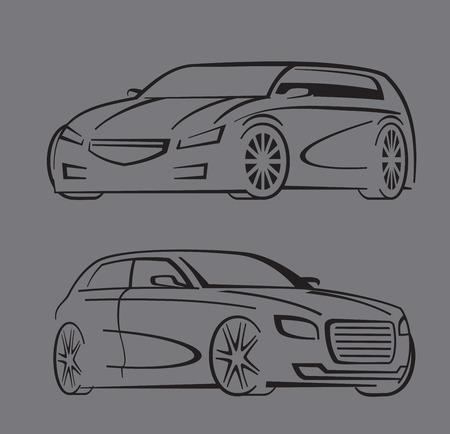 coupe: black auto set