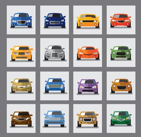 auto icon Ilustração