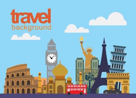 india city: icona di viaggio Vettoriali