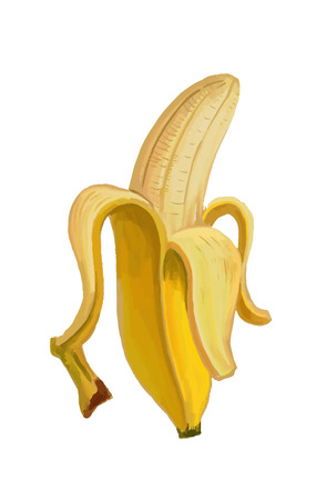 picture of banana Vector