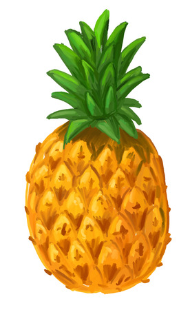 truthfulness: picture of pineapple