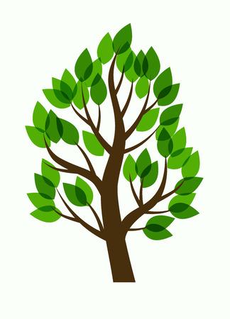 Vektor-Baum- Illustration