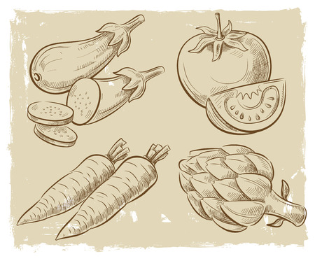 vegetarianism: picture of vegetables