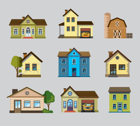 bunte home icon Illustration