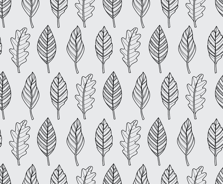 macro leaf: vector black Leaf nature icon on white background