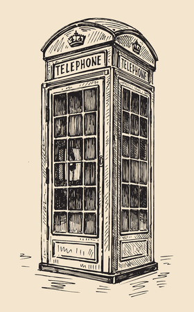 phonebooth: phone box in London
