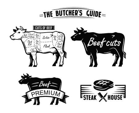 black cow symbol