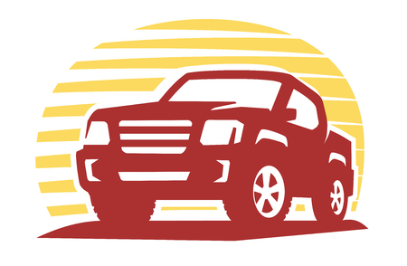 emblem pickup silhouette