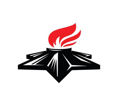 eternal flame symbol