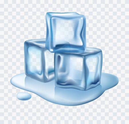 Eiswürfel Vektor