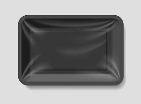storage box: empty plastic container