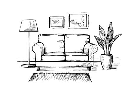 Interior Design doodle