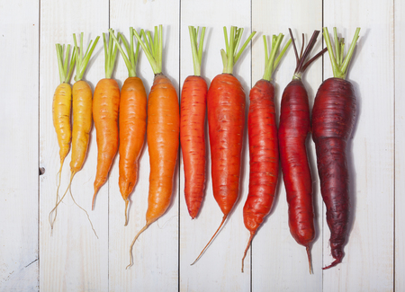 Heerlijke kleur wortel