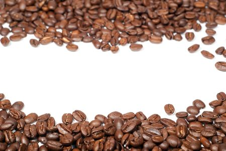 coffee to go: coffee beans