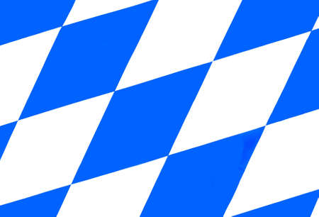 bavaria Octoberfest flag white blue photo