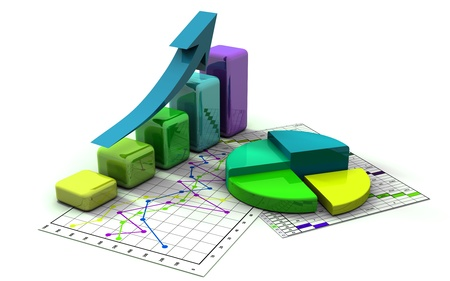 business graph, chart, diagram