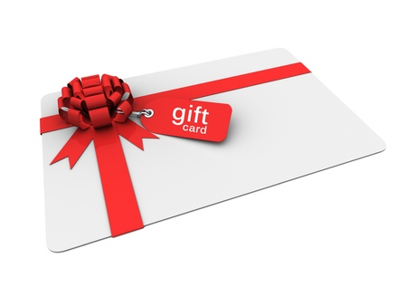 gift wrapping: valentine gift card