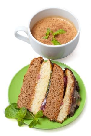 tea with cake photo