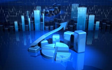 Business finance image Stock Photo