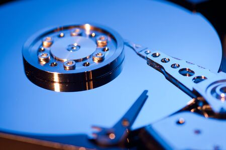 fv: Hdd concept, hard drive Stock Photo
