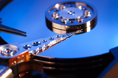 Hdd concept, hard drive Stock Photo