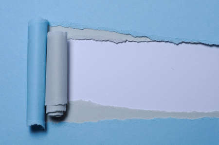 Torn paper with space for your message photo