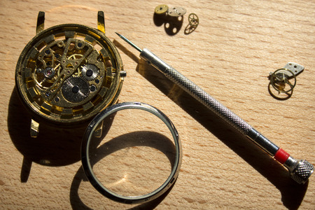 watchmaker: mechanical watch repair