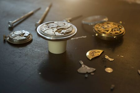 Watchmakers workshop, special tools for repair