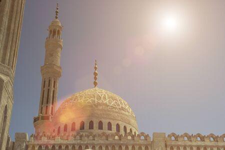 Muslim mosque in Sharm El Sheikh Banque d'images