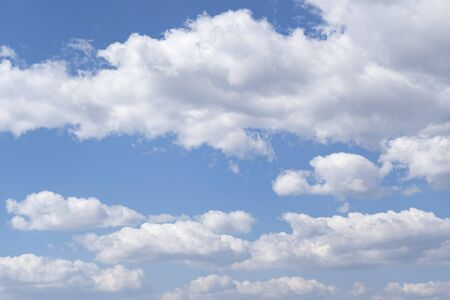 Nice clounds in the sky, blue sky Stock fotó