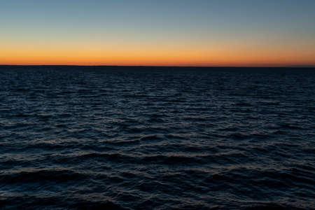 Dawn over the sea, morning Zdjęcie Seryjne