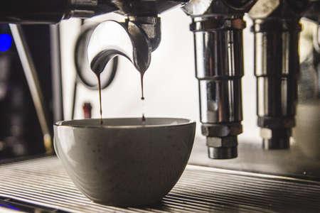 Making a cofee, a cup of cofee Zdjęcie Seryjne