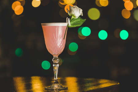 Nice summer cocktails in the bar
