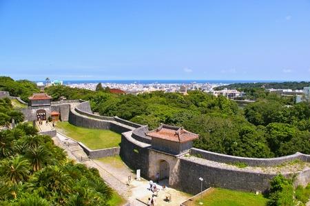 Shuri Castle Wall