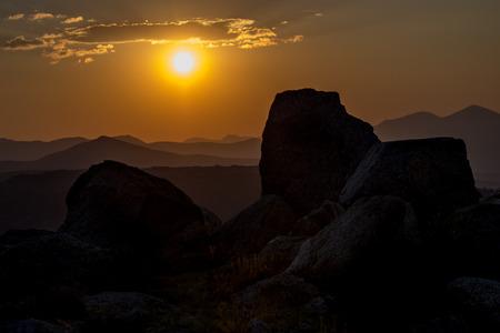 mount evans: Sunset at Mount Evans