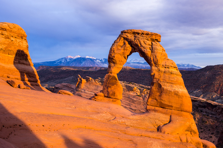 Delecate Arch at Sunset