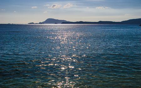 View on Tokashiki Island Stock Photo