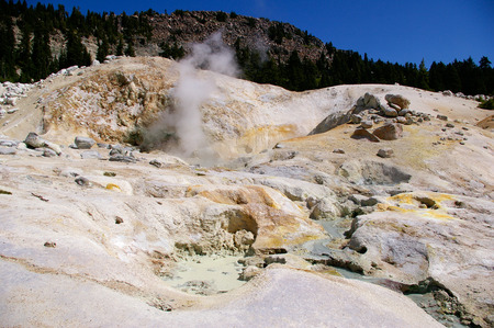 feature: Thermal Feature at Lassen Volcanic National Park
