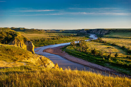 Dakota Północna Badlands